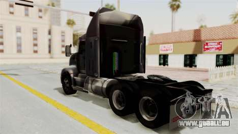Kenworth T660 Sleeper für GTA San Andreas linke Ansicht