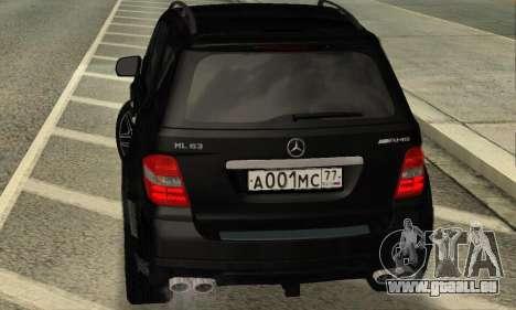 Mercedes-Benz ML 63 AMG für GTA San Andreas rechten Ansicht