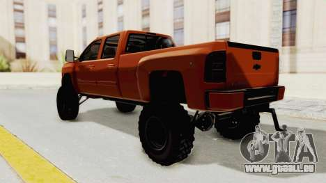 Chevrolet Silverado Long Bed für GTA San Andreas linke Ansicht