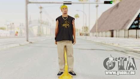 GTA 5 Los Santos Vagos Member 1 pour GTA San Andreas deuxième écran