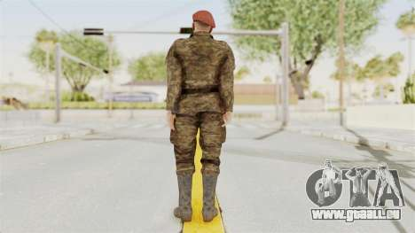 MGSV The Phantom Pain Soviet Union Commander für GTA San Andreas dritten Screenshot