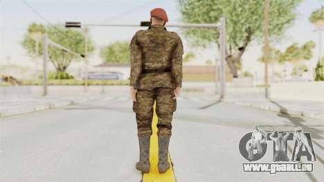 MGSV The Phantom Pain Soviet Union Commander pour GTA San Andreas troisième écran