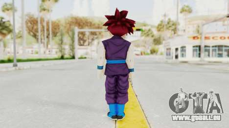 Dragon Ball Xenoverse Gohan Teen DBS SSG v1 für GTA San Andreas dritten Screenshot