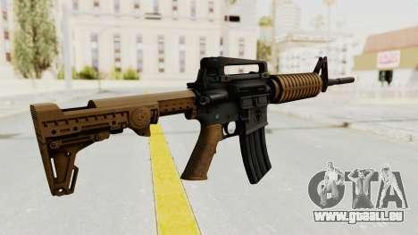 HD M4 v2 pour GTA San Andreas deuxième écran