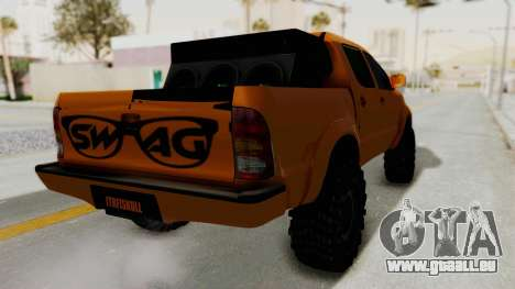 Toyota Hilux 2010 Off-Road Swag Edition pour GTA San Andreas vue de droite