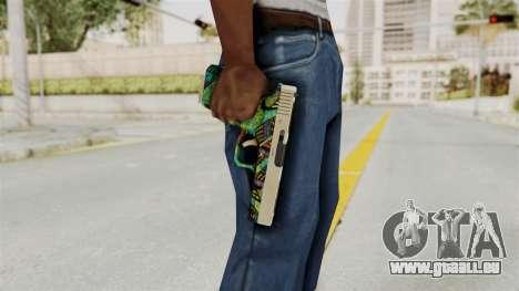 Glock 18C für GTA San Andreas dritten Screenshot