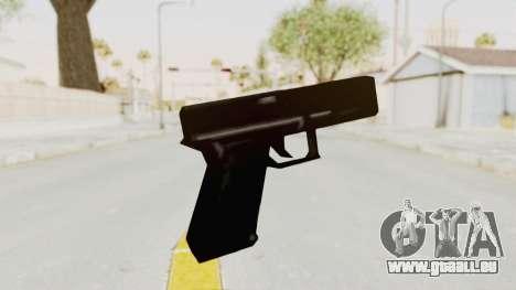 Liberty City Stories - Glock 17 für GTA San Andreas dritten Screenshot