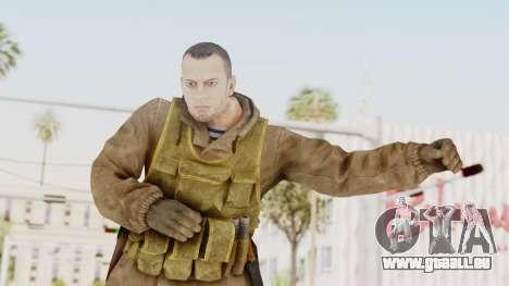 MGSV The Phantom Pain Soviet Union Sniper pour GTA San Andreas