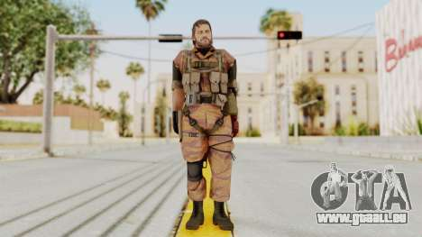 MGSV The Phantom Pain Venom Snake No Eyepatch v5 für GTA San Andreas zweiten Screenshot