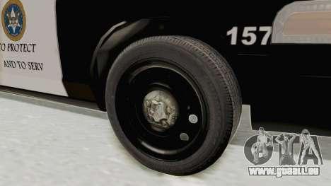 Ford Crown Victoria SFPD für GTA San Andreas Rückansicht