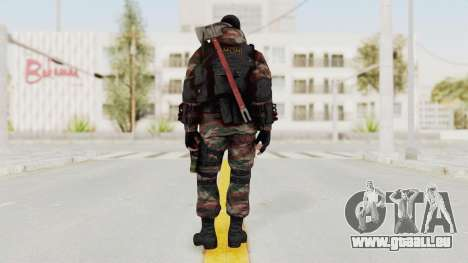 Battery Online Russian Soldier 5 v2 pour GTA San Andreas troisième écran