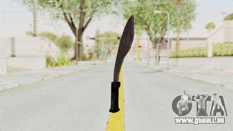 Liberty City Stories - Machete für GTA San Andreas zweiten Screenshot