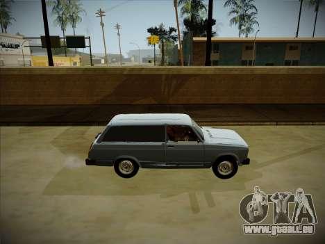 VAZ 2104 avec un grand coffre pour GTA San Andreas vue de droite