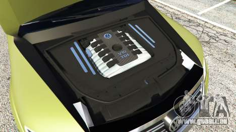 Volkswagen Touareg R50 2008 pour GTA 5