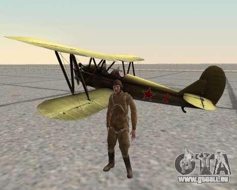 Pak Kämpfer der roten Armee für GTA San Andreas zehnten Screenshot