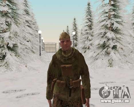 Pak combattants de l'armée rouge pour GTA San Andreas cinquième écran