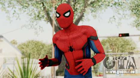 Captain America Civil War - Spider-Man für GTA San Andreas