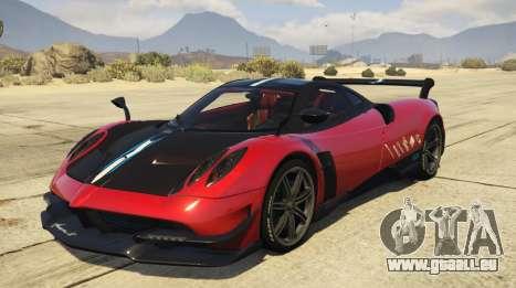 2016 Pagani Huayra BC für GTA 5