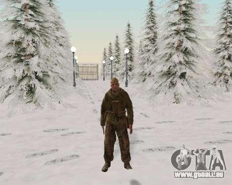 Pak Kämpfer der roten Armee für GTA San Andreas sechsten Screenshot