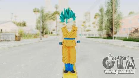 Dragon Ball Xenoverse Gohan Teen DBS SSGSS2 v2 für GTA San Andreas zweiten Screenshot