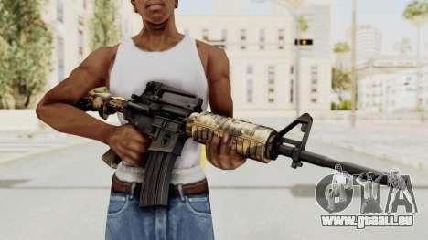 HD M4 v3 pour GTA San Andreas