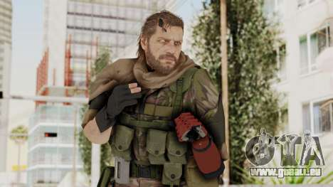 MGSV The Phantom Pain Venom Snake Sc No Patch v6 pour GTA San Andreas
