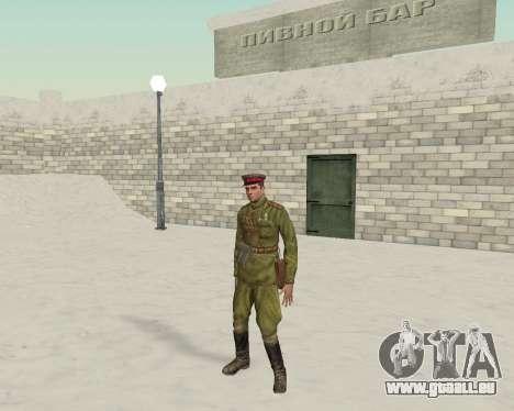 Pak combattants de l'armée rouge pour GTA San Andreas troisième écran
