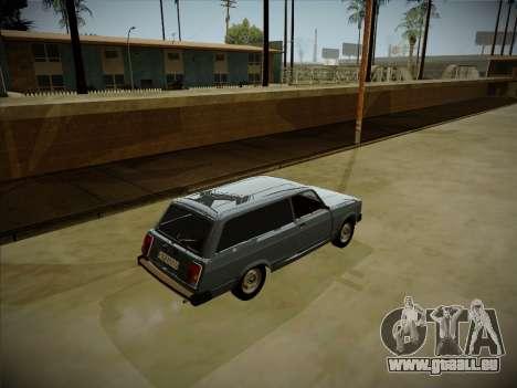 VAZ 2104 avec un grand coffre pour GTA San Andreas vue arrière