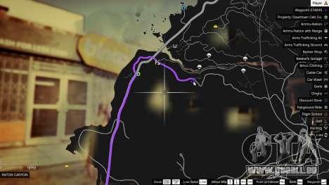GTA 5 Treasure Map V zweite Screenshot