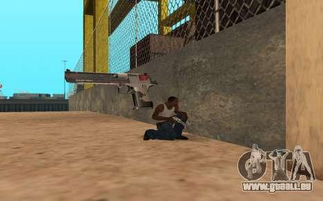 Desert Eagle Cyrex für GTA San Andreas fünften Screenshot