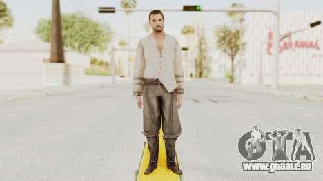 AC Brotherhood - Ezio Auditore Short Hair Civil für GTA San Andreas zweiten Screenshot