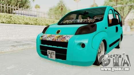 Fiat Fiorino Hellaflush v1 für GTA San Andreas