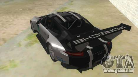 2016 Porsche 911 RSR pour GTA San Andreas sur la vue arrière gauche