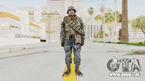 COD BO Russian Spetznas Flak MP v2 für GTA San Andreas zweiten Screenshot