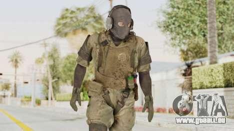 MGSV Phantom Pain Wandering MSF pour GTA San Andreas