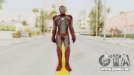 Marvel Heroes - Iron Man (Mk5) pour GTA San Andreas deuxième écran