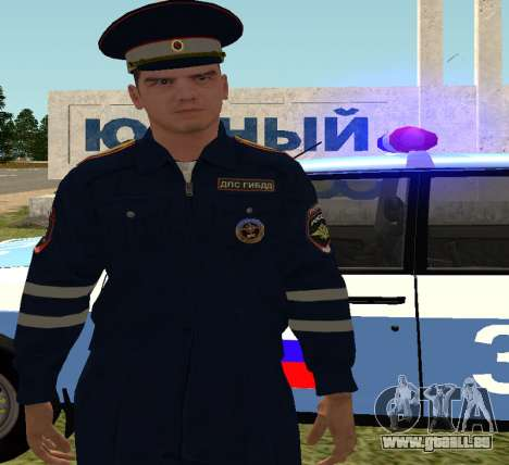 Sergeant DPS pour GTA San Andreas