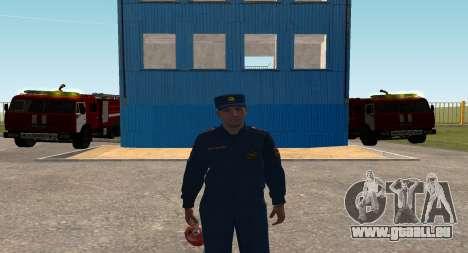Der Oberst EMERCOM von Russland für GTA San Andreas
