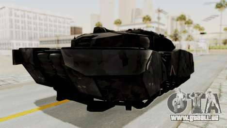 T-470 Hover Tank pour GTA San Andreas vue de droite