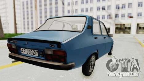 Dacia 1310 MLS 1988 Stock pour GTA San Andreas laissé vue