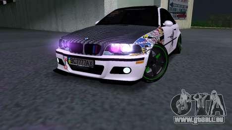 BMW M3 E46 JDM pour GTA San Andreas