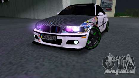 BMW M3 E46 JDM für GTA San Andreas