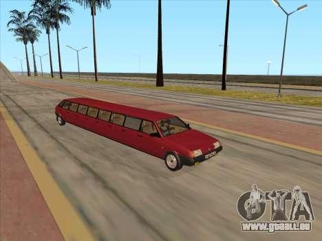 VAZ 2109 17-door pour GTA San Andreas laissé vue