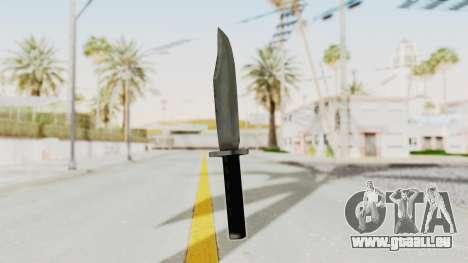 Liberty City Stories - Knife pour GTA San Andreas