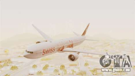 Boeing 777-300ER Faces of SWISS Livery pour GTA San Andreas