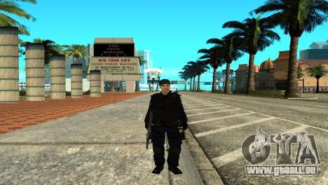 Police SWAT Skin for GTA San Andreas pour GTA San Andreas