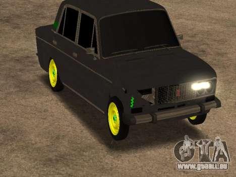VAZ 2106 Shah für GTA San Andreas zurück linke Ansicht