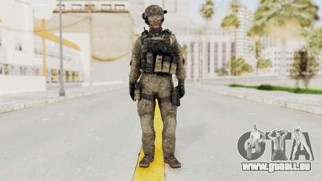 COD MW3 Delta Sandman Custom für GTA San Andreas zweiten Screenshot