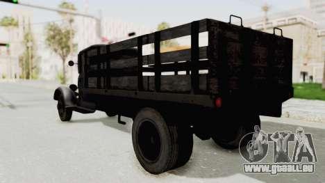 Ford AA from Mafia 2 pour GTA San Andreas sur la vue arrière gauche