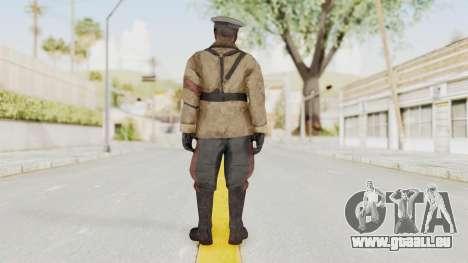 COD BO Richtofen pour GTA San Andreas troisième écran